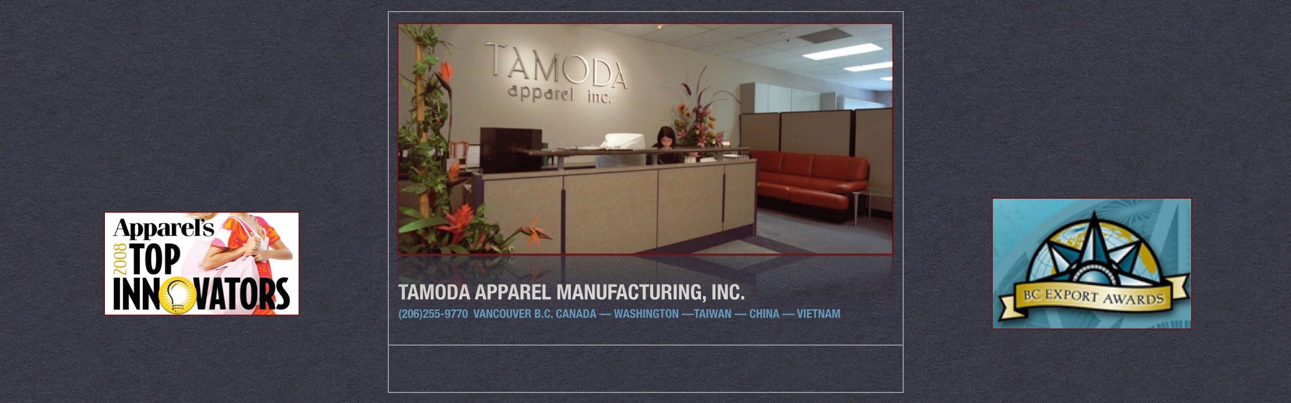 Tamoda Apparel Manufacturing